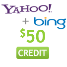 $25 Yahoo Web Search Credit